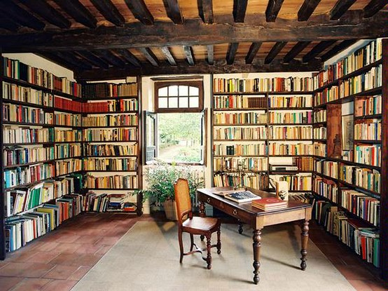 Image from the Imperfecthouse blog and my dream place to write!
