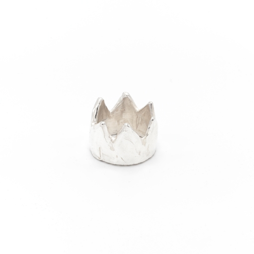 Crown ring | Sterling silver