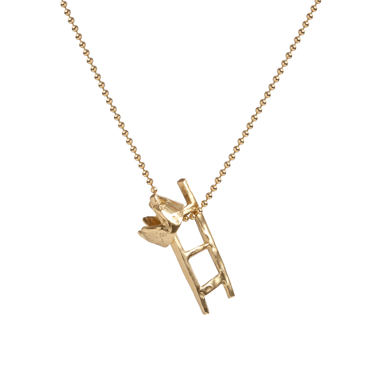 Ladder and Crown | 18k gold