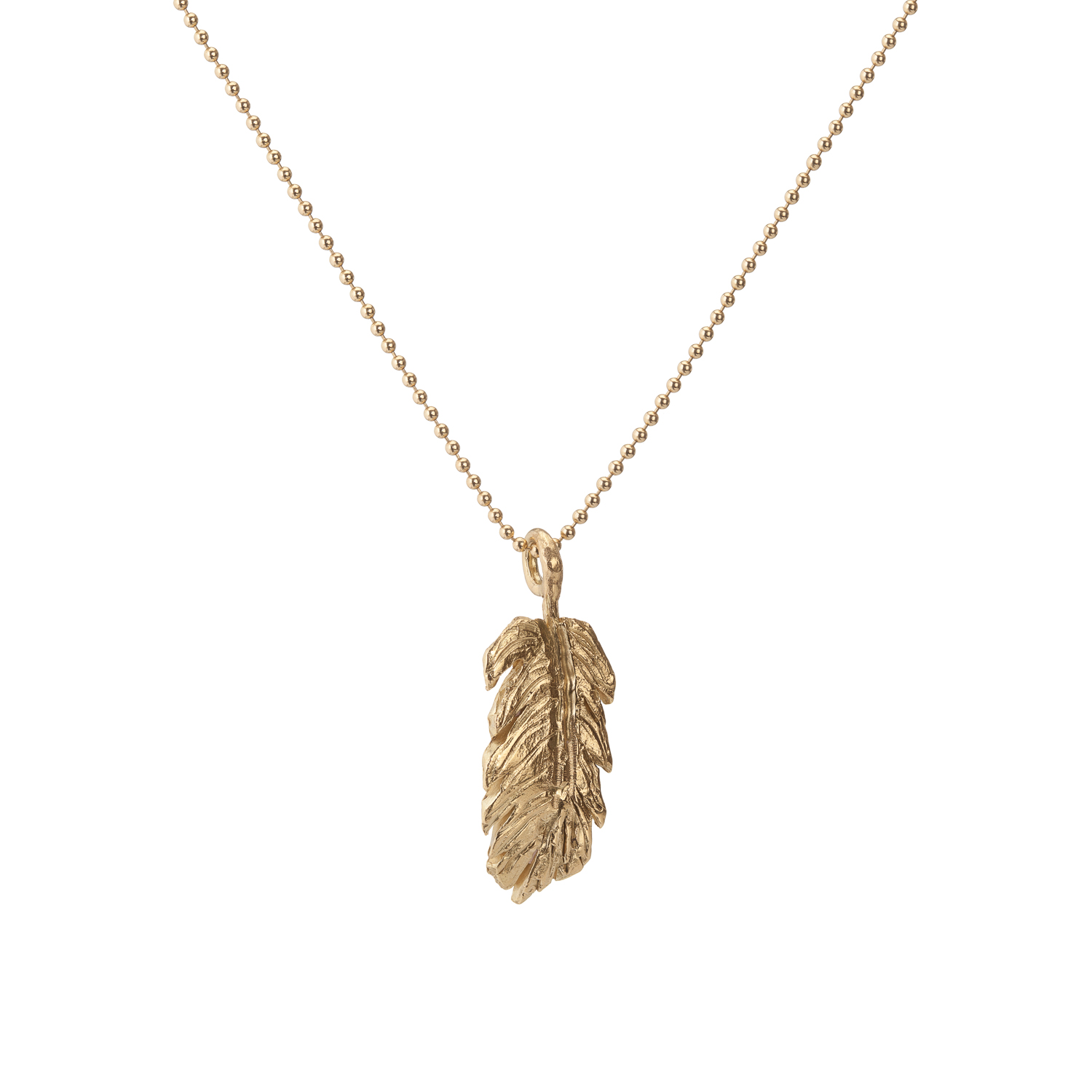 Small feather | 18k gold