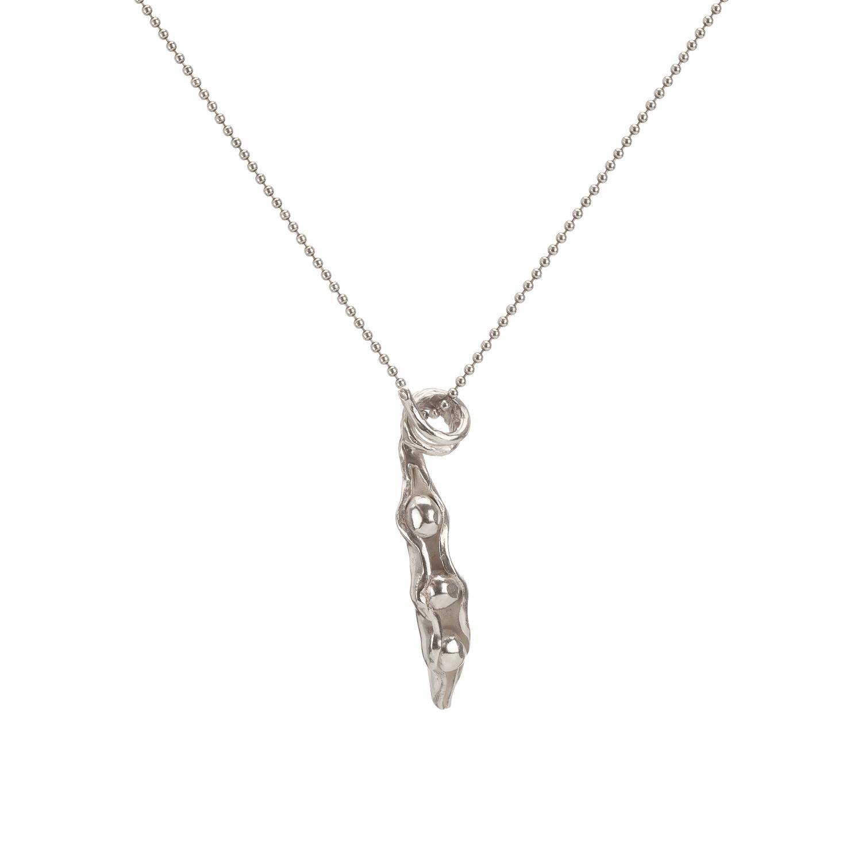 Peapod III | sterling silver