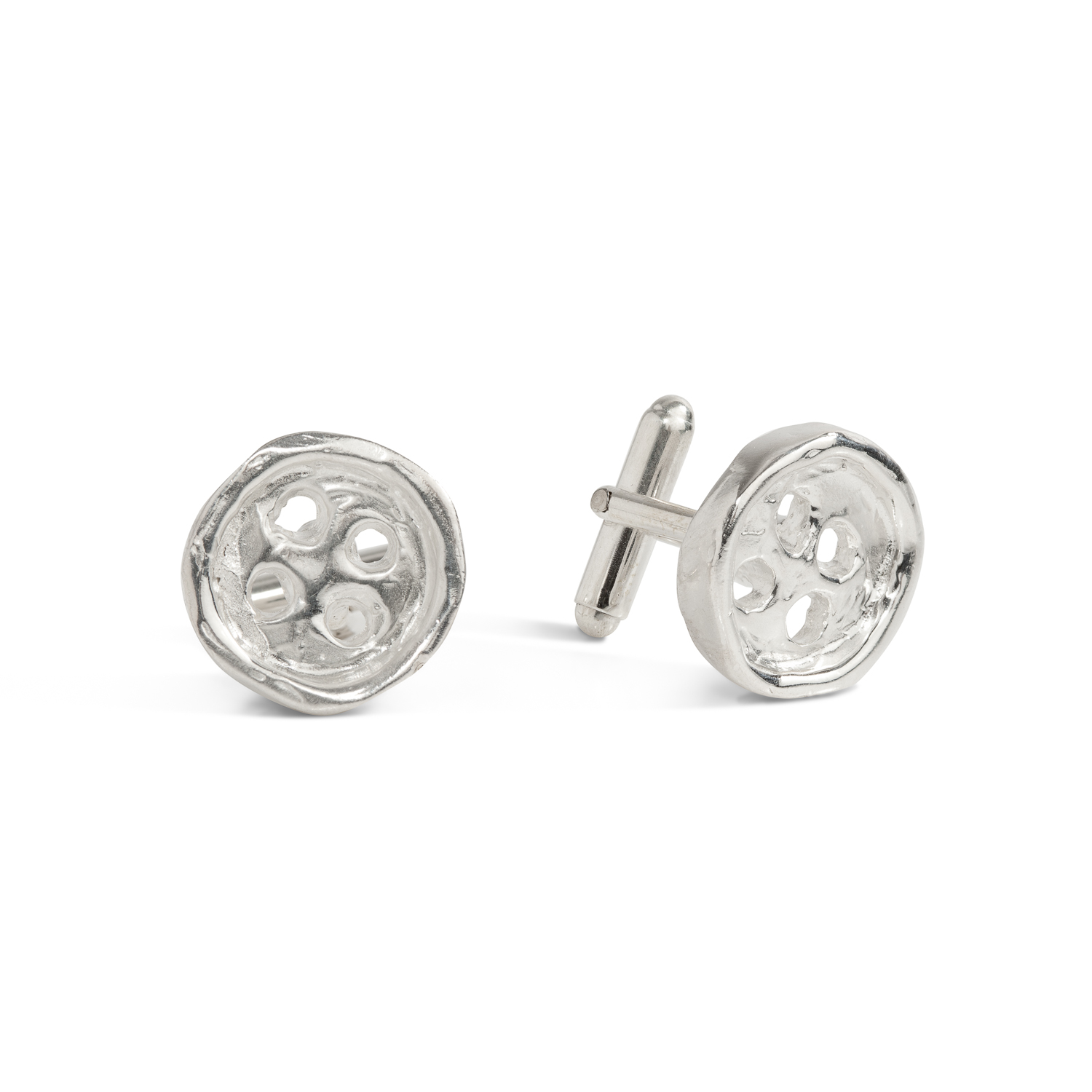 Buttons cufflinks | sterling silver