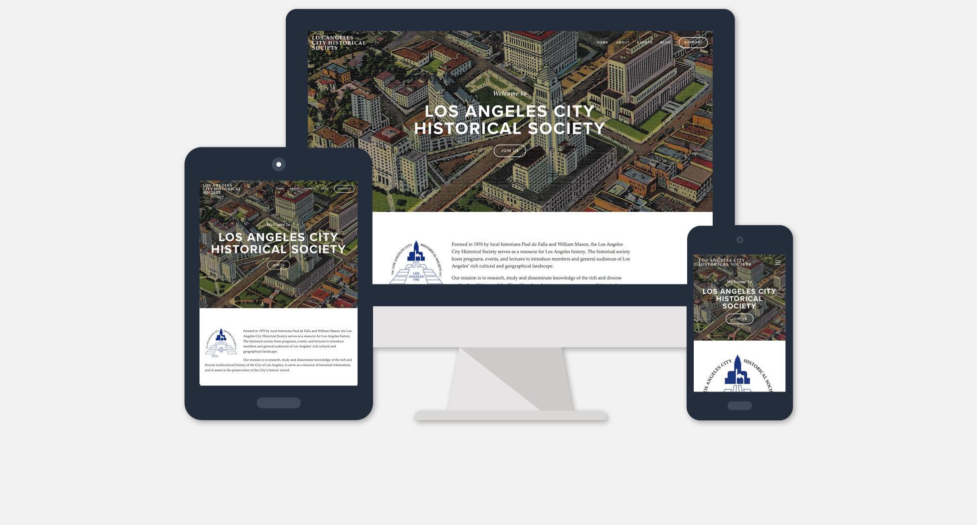 Los Angels City Historical Society