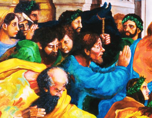 Paul's Sacrifice (detail)