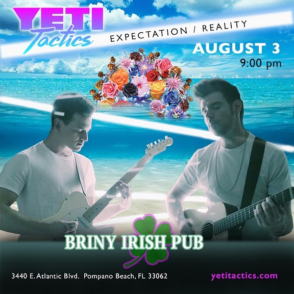 POMPANO BEACH! We back baby. Come out and get silly with us at the Briny. Can't believe it's been 10 years since we graduated PBHS. See you tonight!
