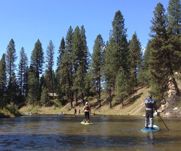 Annual Mother's Day Paddle - Our annual Mother's Day Paddle has been a club staple for over 25 years. The paddle takes place on the Middle Fork of the Payette River conditions permitting.Click here for photos!