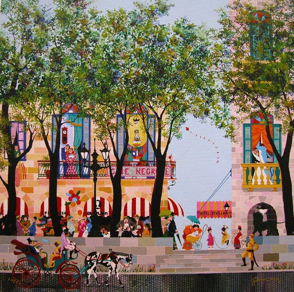 Domingo en el Prado
