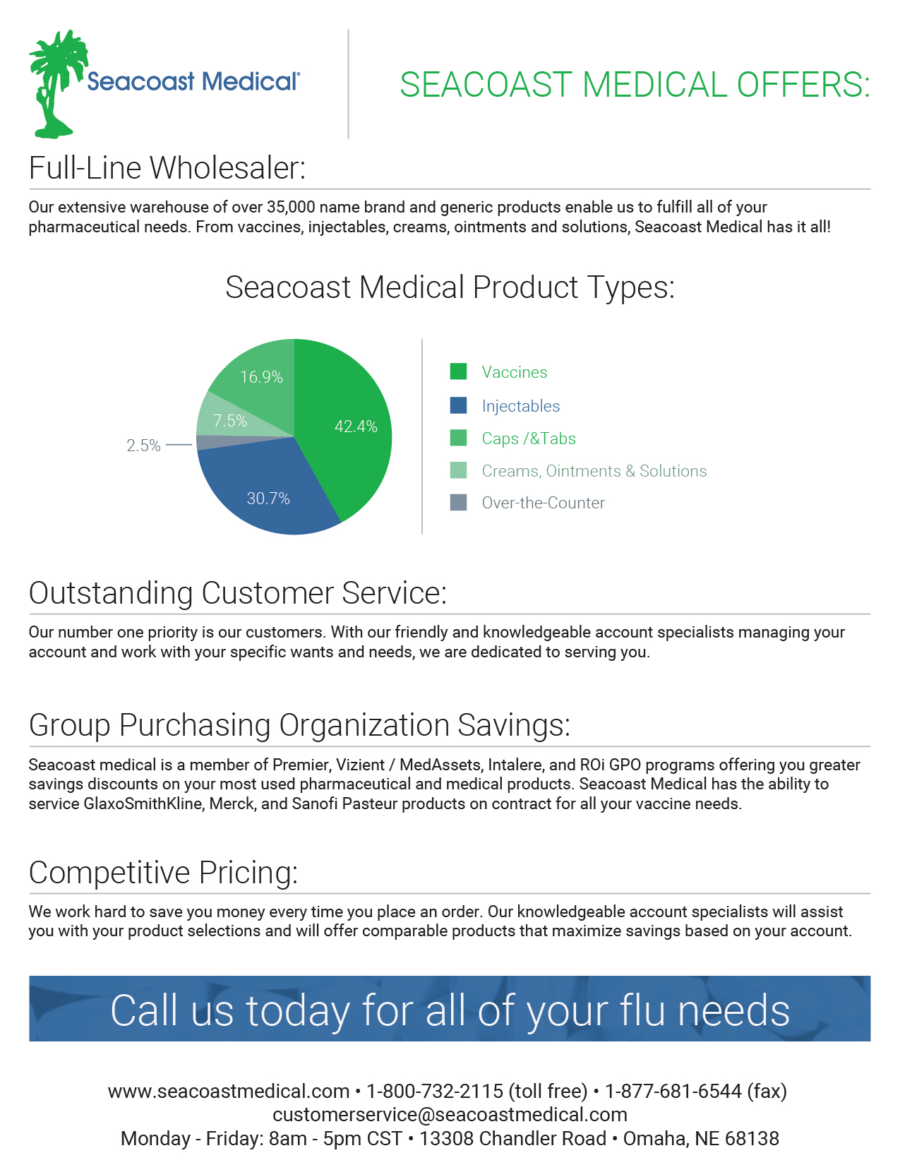 Seacoast medical offers: -