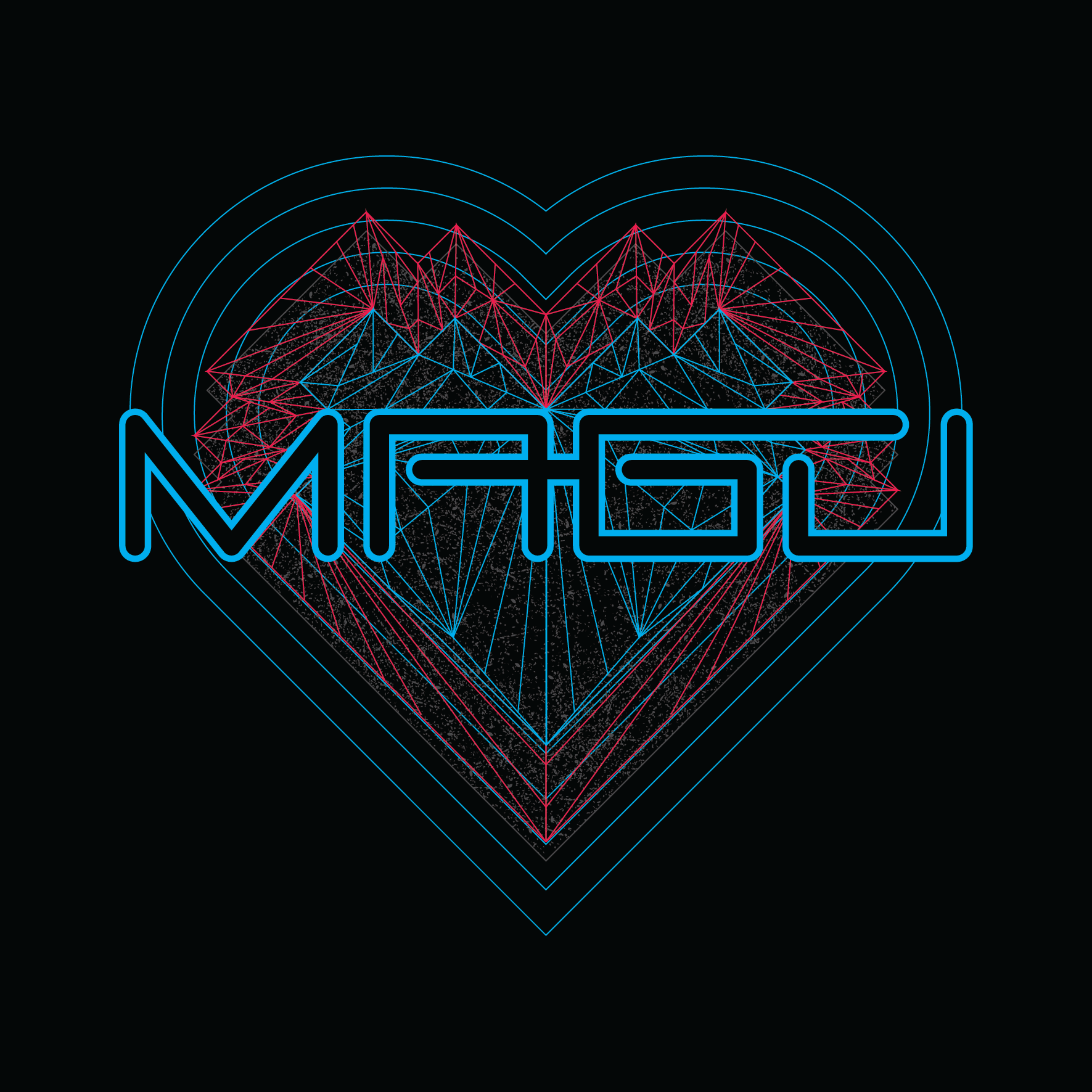 Magu - Revamp of their old logo with a requested heart background.