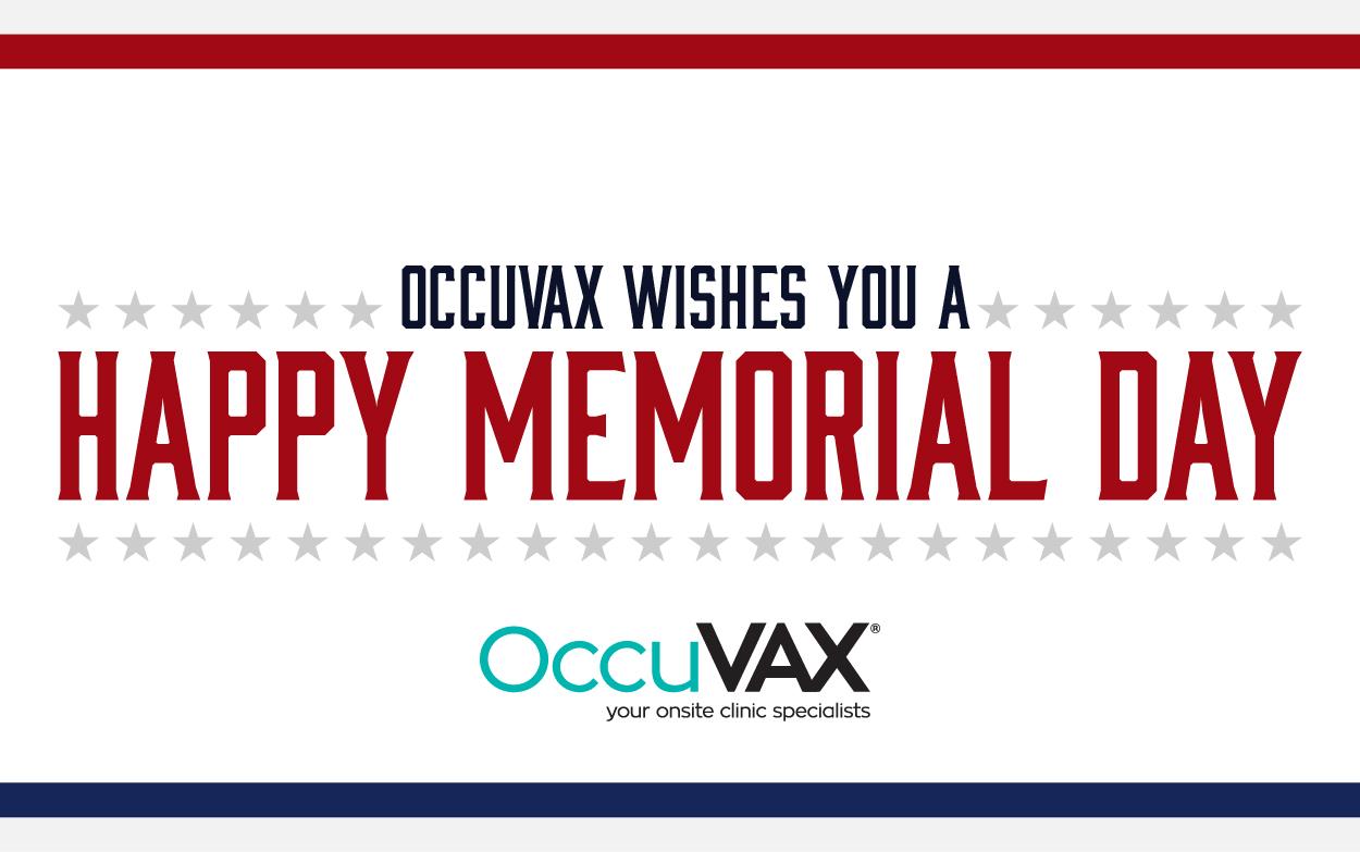 Happy memorial day flyer -