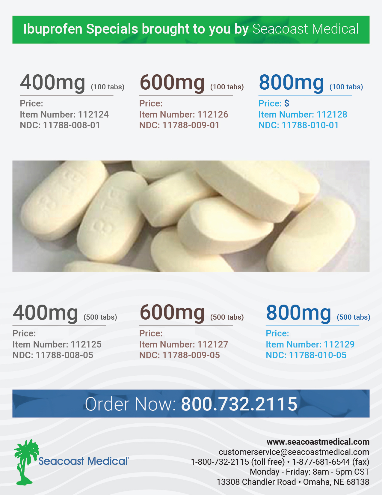 Ibuprofen Special flyer -