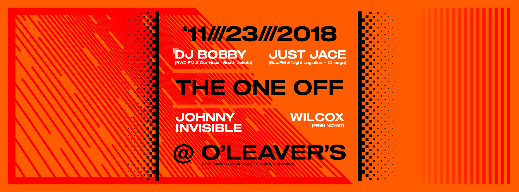 The One Off - DJ Bobby Just Jace Wilcox Johnny Invisible - Cover Photo-01.png