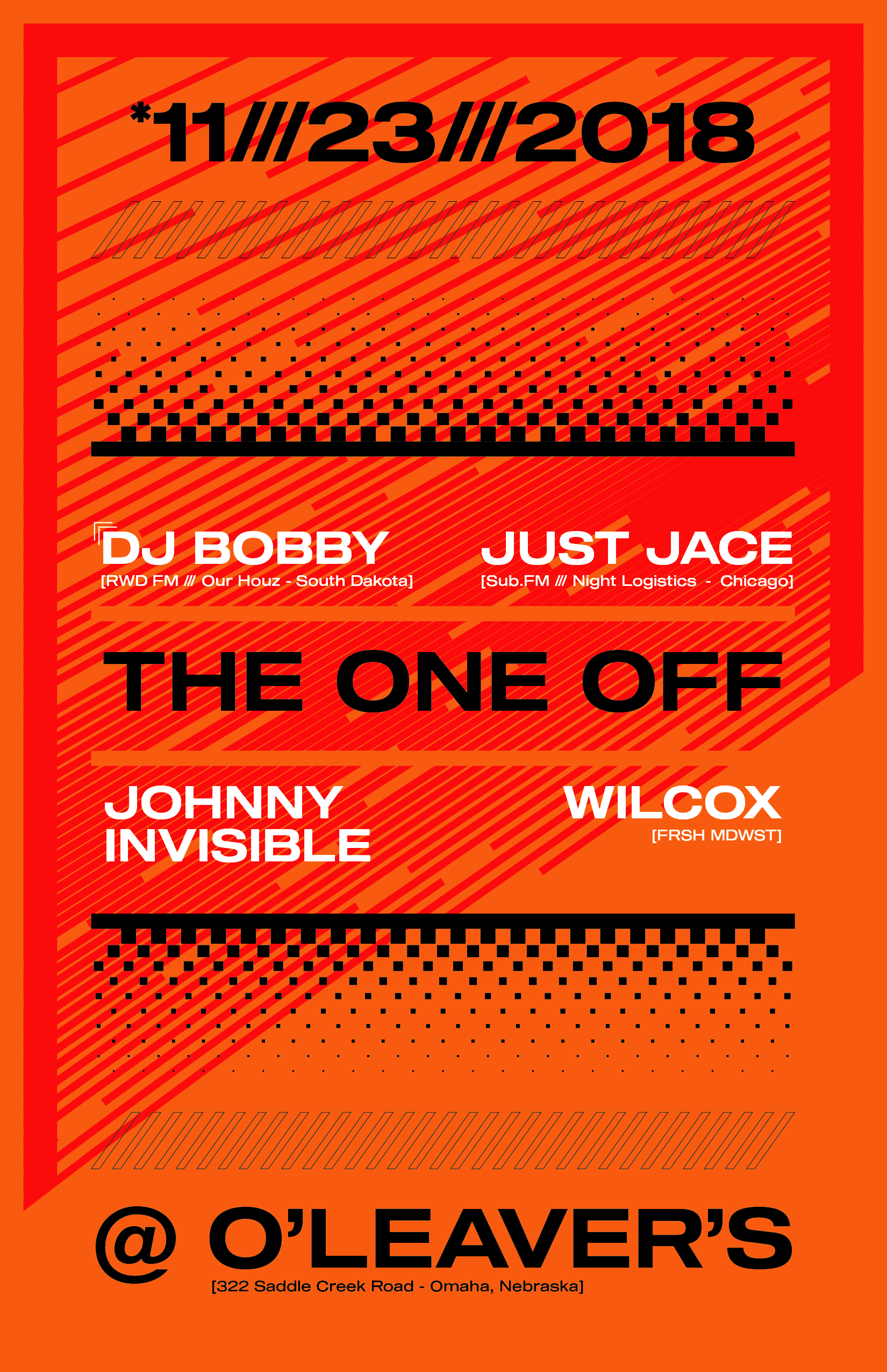 The One Off - DJ Bobby Just Jace Wilcox Johnny Invisible - 11x17-01.png
