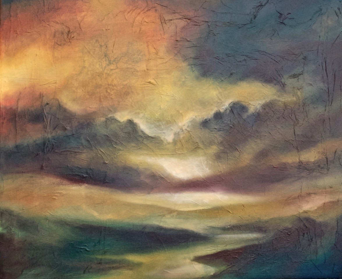 Dawn Light  Oil on canvas 780 x 930mm
