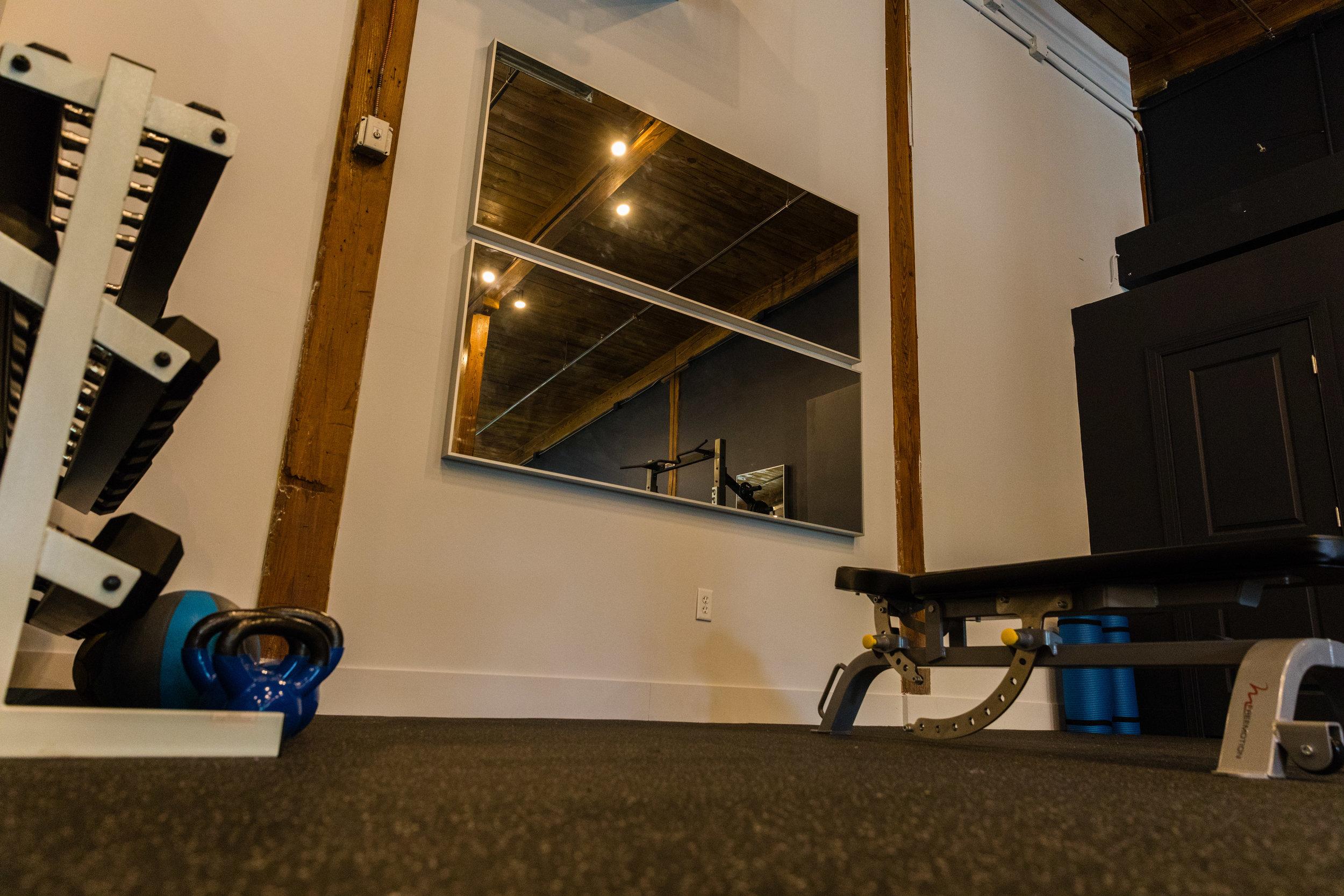 Fitness studio space