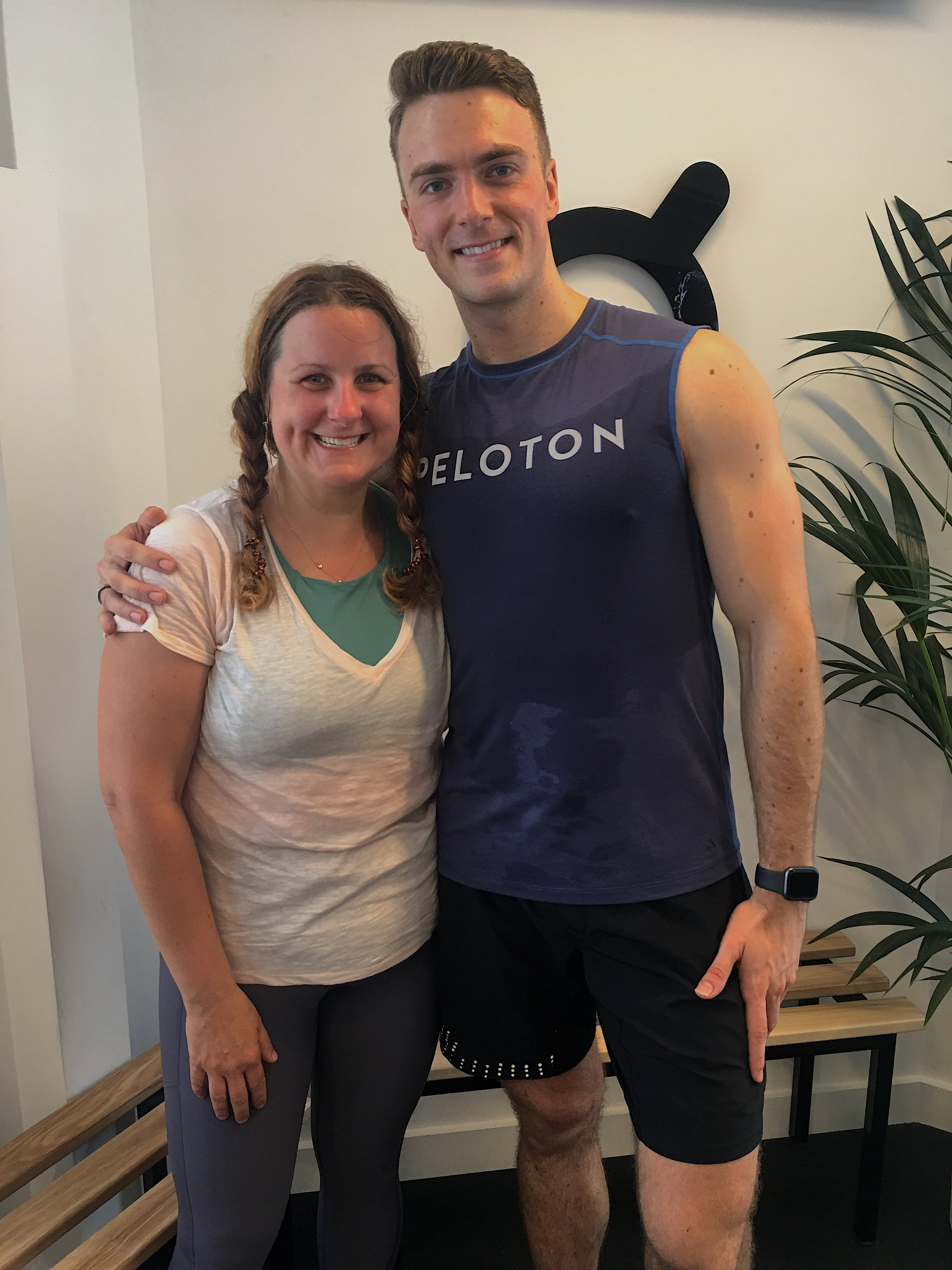 Thanks! - Peloton London you were over-the-top perfect!