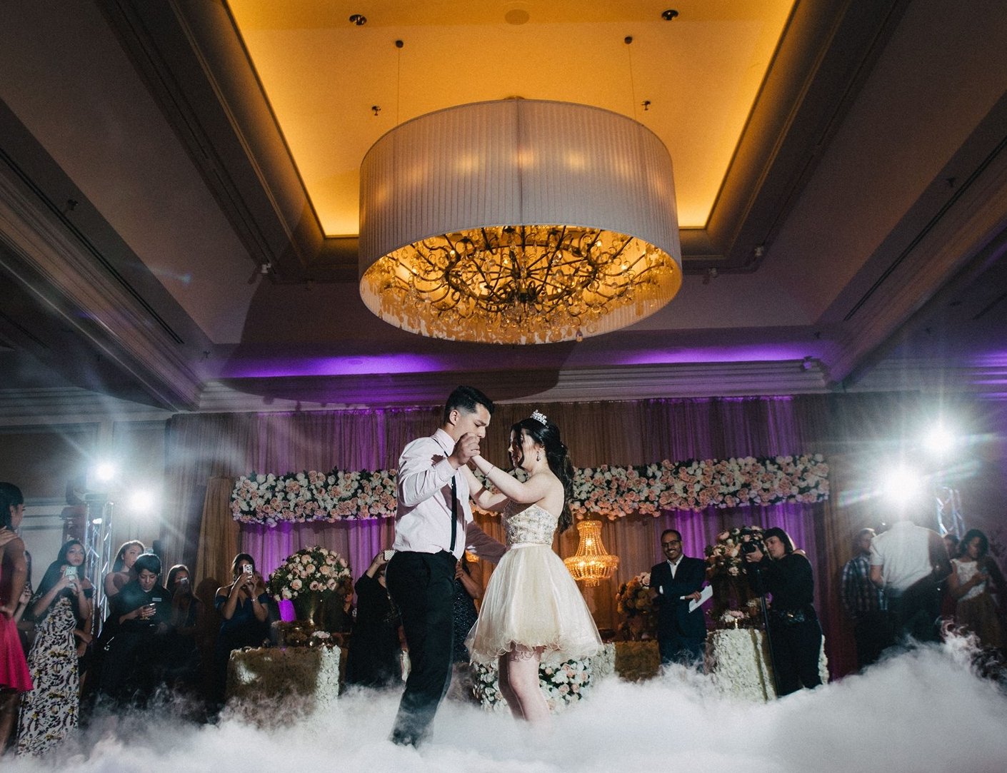 C HOREOGRAPHY  We help help turn your special dance even more memorable. Weddings, Sweet 16 and more.   Learn More →