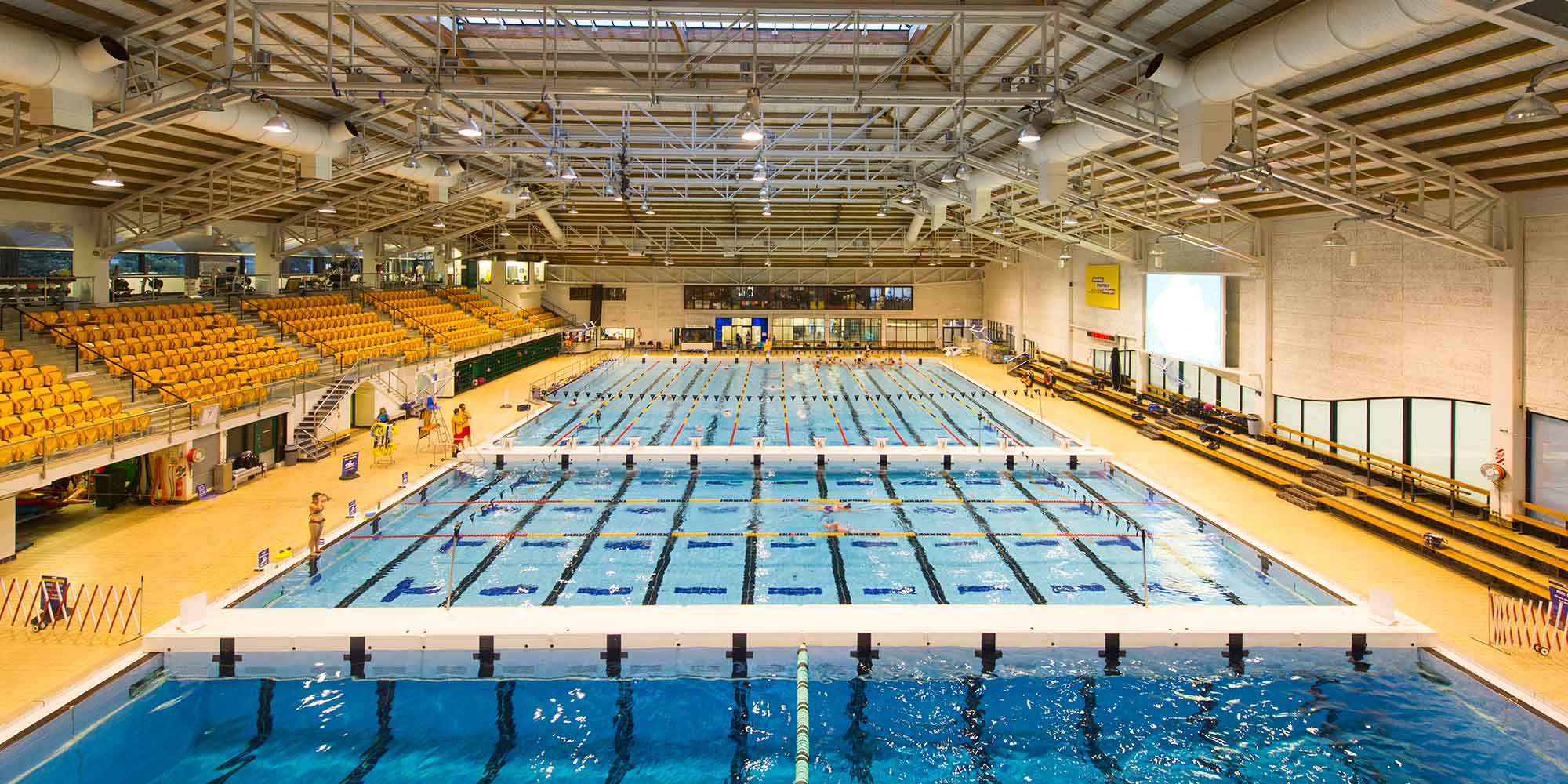 Main pool at WRAC.