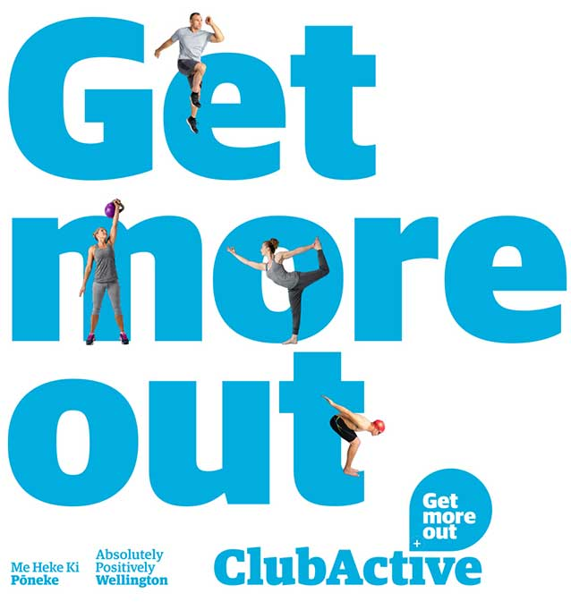 'Get more out' Club Active poster.