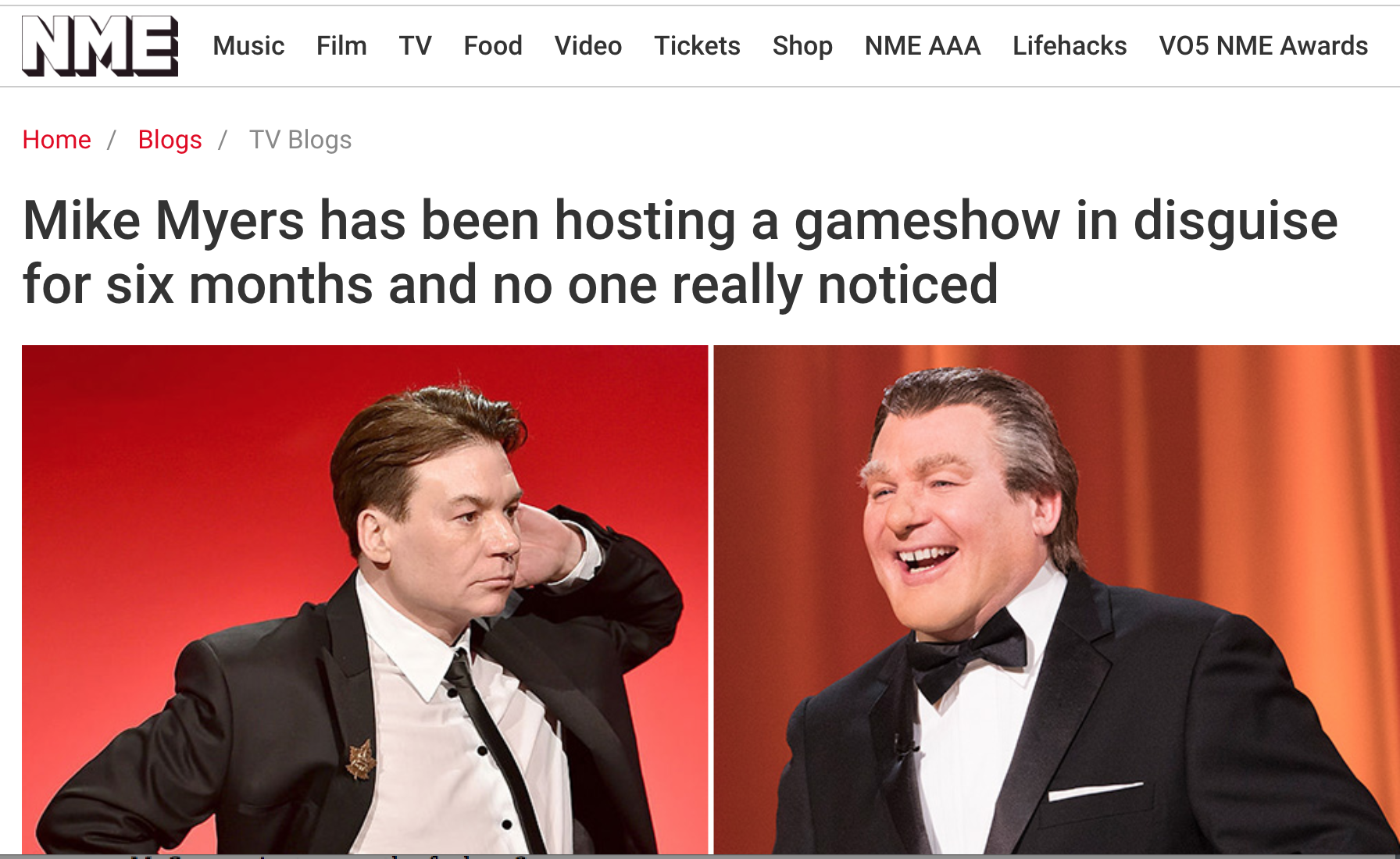 1/09/18  - The Gong Show has been renewed!!! And we're mentioned in the article. Check it out!   http://www.nme.com/blogs/tv-blogs/mike-myers-the-gong-show-2216193