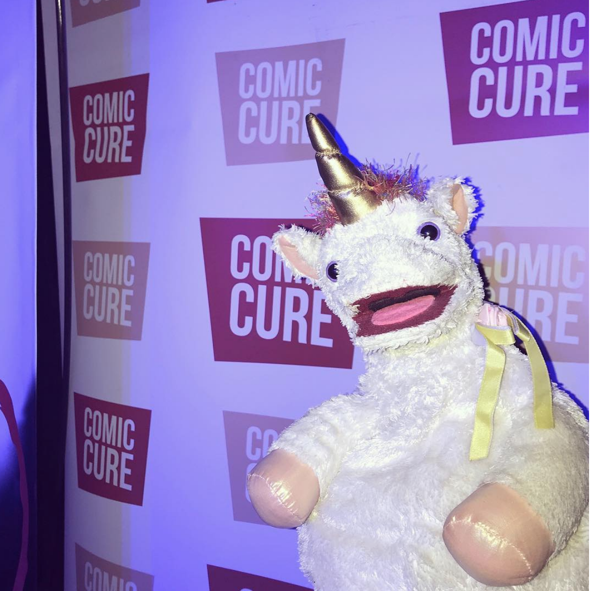 6/05/18  - Marty and I placed third in the Comic Cure LA Pride Comedy Festival!!
