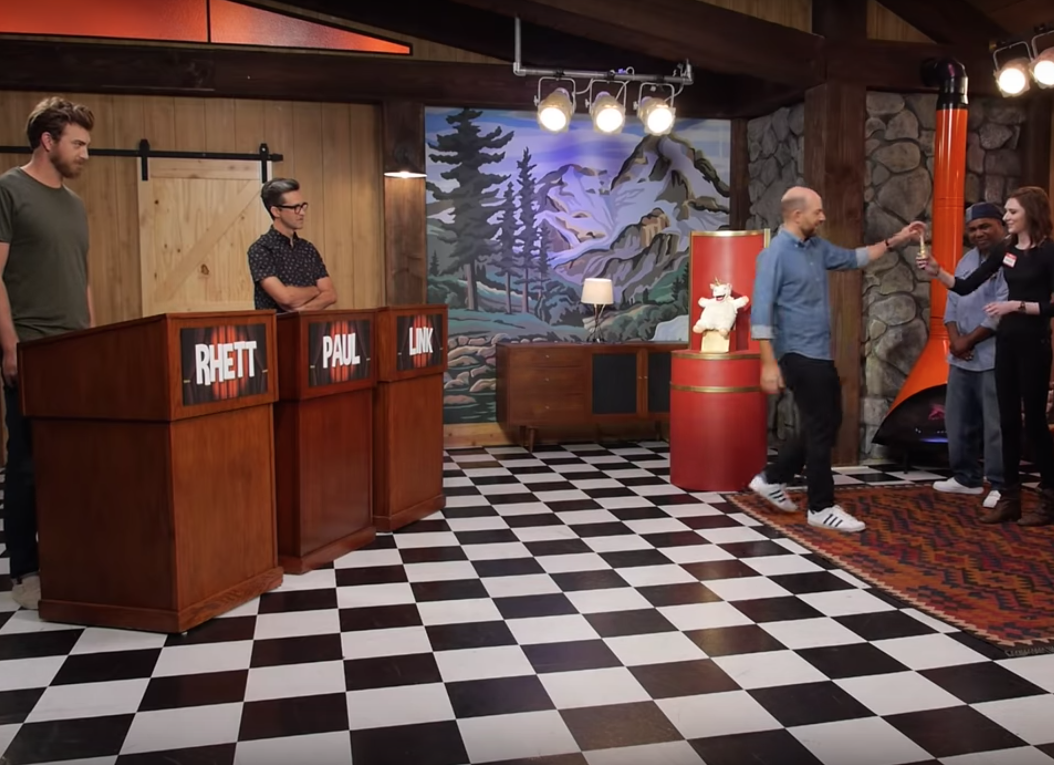 9/25/18  - We were on Good Mythical Morning with Rhett and Link! We had a fabulous time and very excited we got to meet Paul Scheer!   https://www.youtube.com/watch?v=zlWrVYYPpJ8