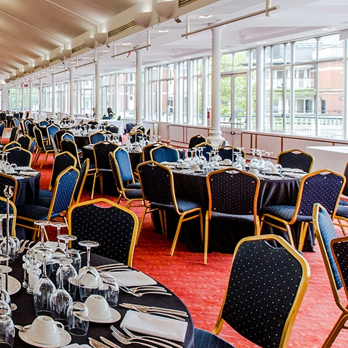 The Ascot Pavilion - Starting at £399 Per PersonWe are proud to offer the best in official Royal Ascot hospitality packages for the 2020 meeting, as an Official Hospitality Supplier (OHS) appointed directly by Ascot.Within the Royal Ascot Pavilion lies a world of elegant sophistication. This historic, Grade II-listed building combines the heritage and elegance of Ascot with sweeping views across the Plaza towards the Parade Ring; a vibrant restaurant from which to enjoy the delights of Royal Ascot. With its great menu and location, this facility is an exceptional value.Bookings can be made for a minimum of two guests, with private tables available for parties of ten to twelve.