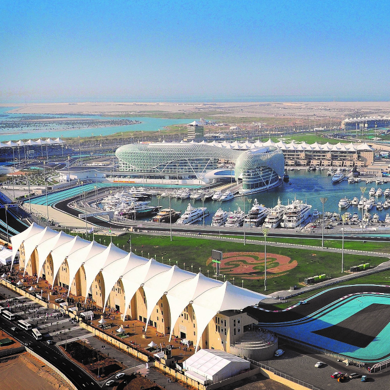 Harbour Club - Starting at £720Per PersonGain a front row seat at the iconic 5* Yas Viceroy Hotel for Abu Dhabi's dramatic twilight race and 2017's season finale.Hosted by our team, you will enjoy fantastic views, including three corners of the circuit and the stunning Yas Marina. Guests can enjoy the race from our large trackside terrace, or watch the action on one of the large screens in the air-conditioned lounge.