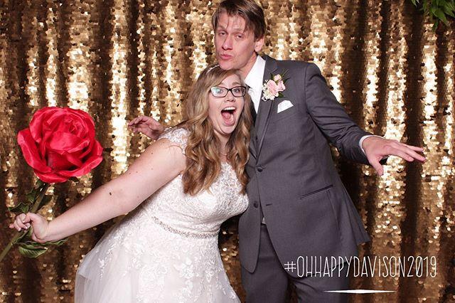 Congratulations to Sara & Blake! #ohhappydavison2019  www.awkwardmomentsphotobooth.com  #photobooth #weddings #engaged #shesaidyes #gettingmarried #engagedlife #bridetobe #bridesmaid #maidofhonor #futurebride #bridalshowers #birthday #quinceañera #sweetsixteen #babyshower #welcomebaby #retirement #justbecause #venturacounty #oxnard #ventura #photofun #fancy #premieropenairbooth #propfun #mermaid #AMPB #enoughsaid #awkwardmomentsphotobooth