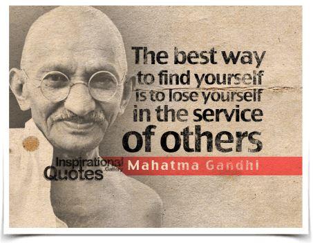 Gandhi quote - service to others.JPG
