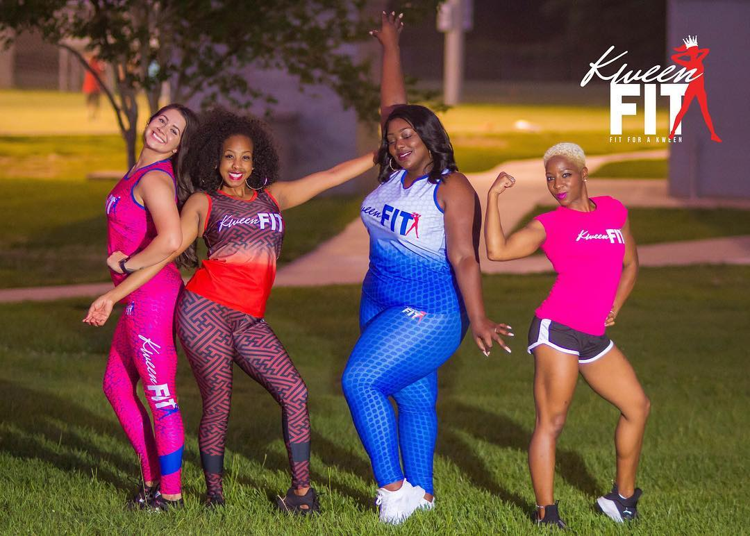 Kim K & Lush Consulting Firm presents Kween Fit Launch. Kween Fit is a luxury activewear created by Kween Kimberly Knight. This activewear line was created for Kweens of ALL colors, shapes, or sizes. Kween Fit is fitness wear made for the Royal Soul.