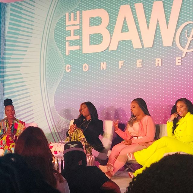 Catching gems 💎, building relationships 🤝, and forming sisterhoods 👭 was the whole MOOD of our weekend. ✨ @thebawseconference is the conference of ALL Conferences and you are guaranteed to walk away with the fundamentals and resources necessary no matter what industry you're in to be a better you personally and professionally. @kim_klushpr CEO of @lushconsultingfirm enjoyed the weekend thoroughly and will definitely be back next year. You never know, in the future I could be one of the panelist 😉 (speaking it forward). Thanks to all the ladies that came out and shared their knowledge with us, and pouring in our cups. Once again thank you @courtneyadeleye and may God continue to bless you‼️ #thebawseconference #mompreneur #publicist #entrepreneur #prlife #entrepreneurlife #women #pr #womanentrepreneur #happiness #publicrelations #pr #success  #womeninbusiness #womeninpr #lushconsultingfirm