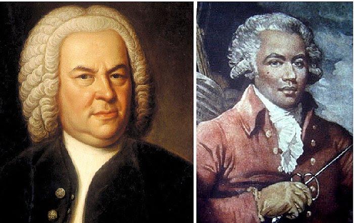 J.S. Bach and Chevalier de Saint-Georges