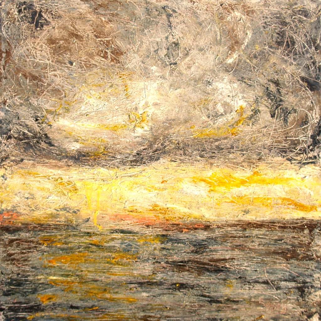 """'Summer Heat', 24""""x24"""" oil on canvas"""