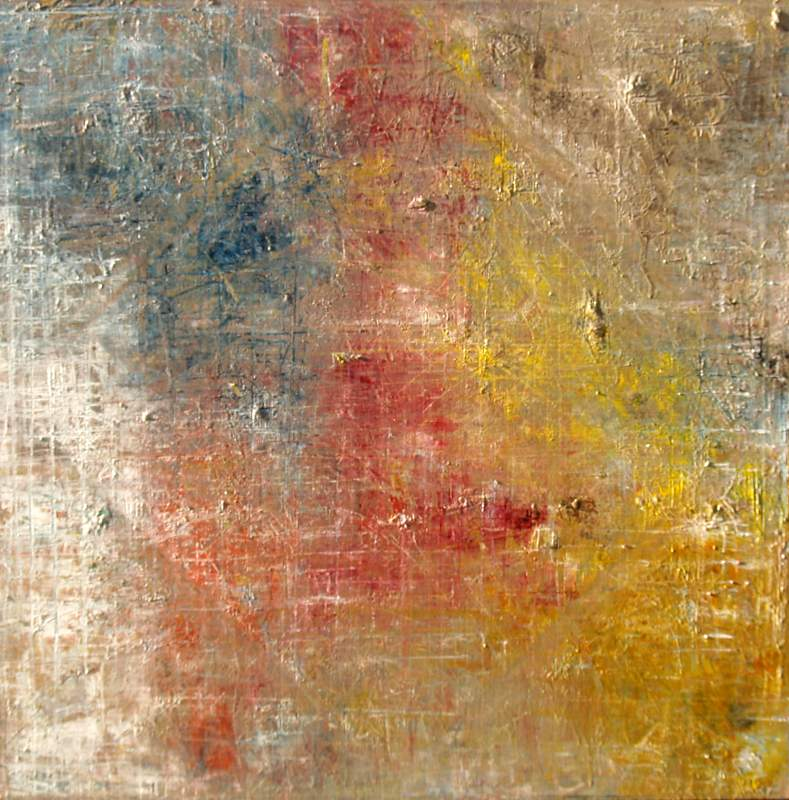 """SOLD 'Primary Changes', 30""""x30"""" oil on  canvas"""
