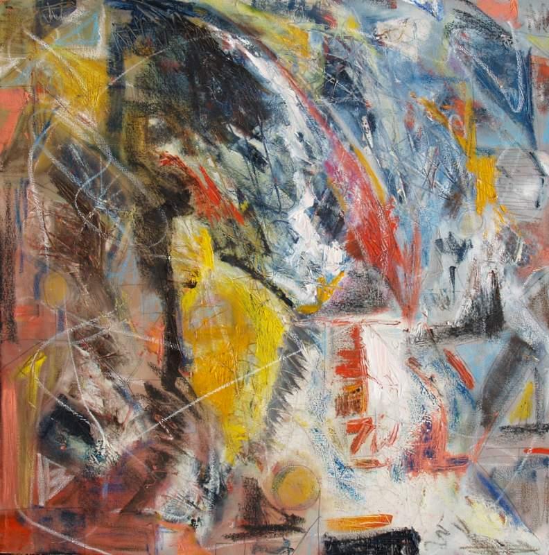"'Minds Eye', 24""x24"" oil on canvas"