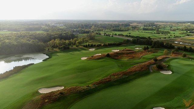 Windsong Farm Golf Club - Minnesota. . . . . . . . #dji #phantom4pro #phantom #djimavic #golf #dronephotography #drone #dronestagram #aerial #drones #droneshots #dronenature #golfing #golfcourses #goldenhour