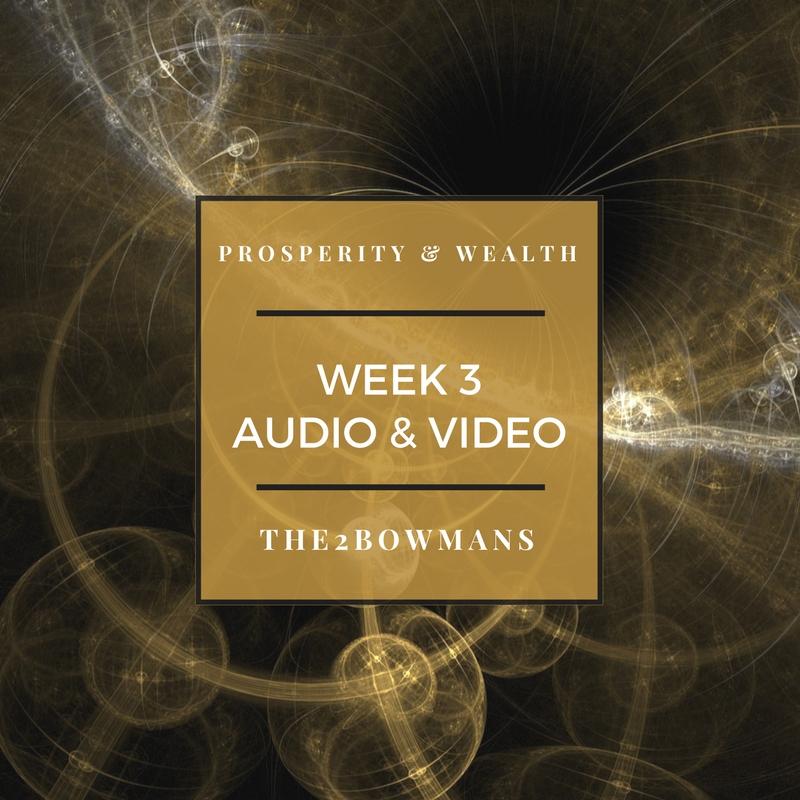 WEEK 3 -Exploring Prosperity and Scarcity