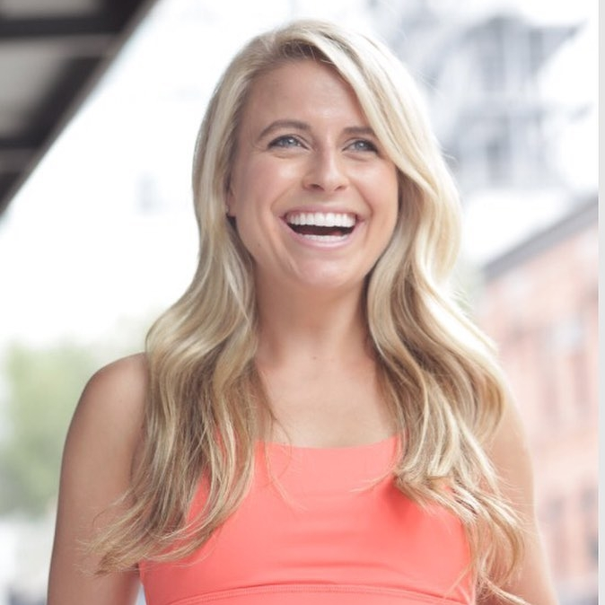 Emily Fayette - Emily Fayette is a woman of many talents. at only 28, she's basically killing it in all aspects of her life.Emily is a FlyWheel instructor, a Health Coach, and Personal Trainer, and she recently launched and created a wellness community online called Elevate Together.(I guess you can say she's busy).