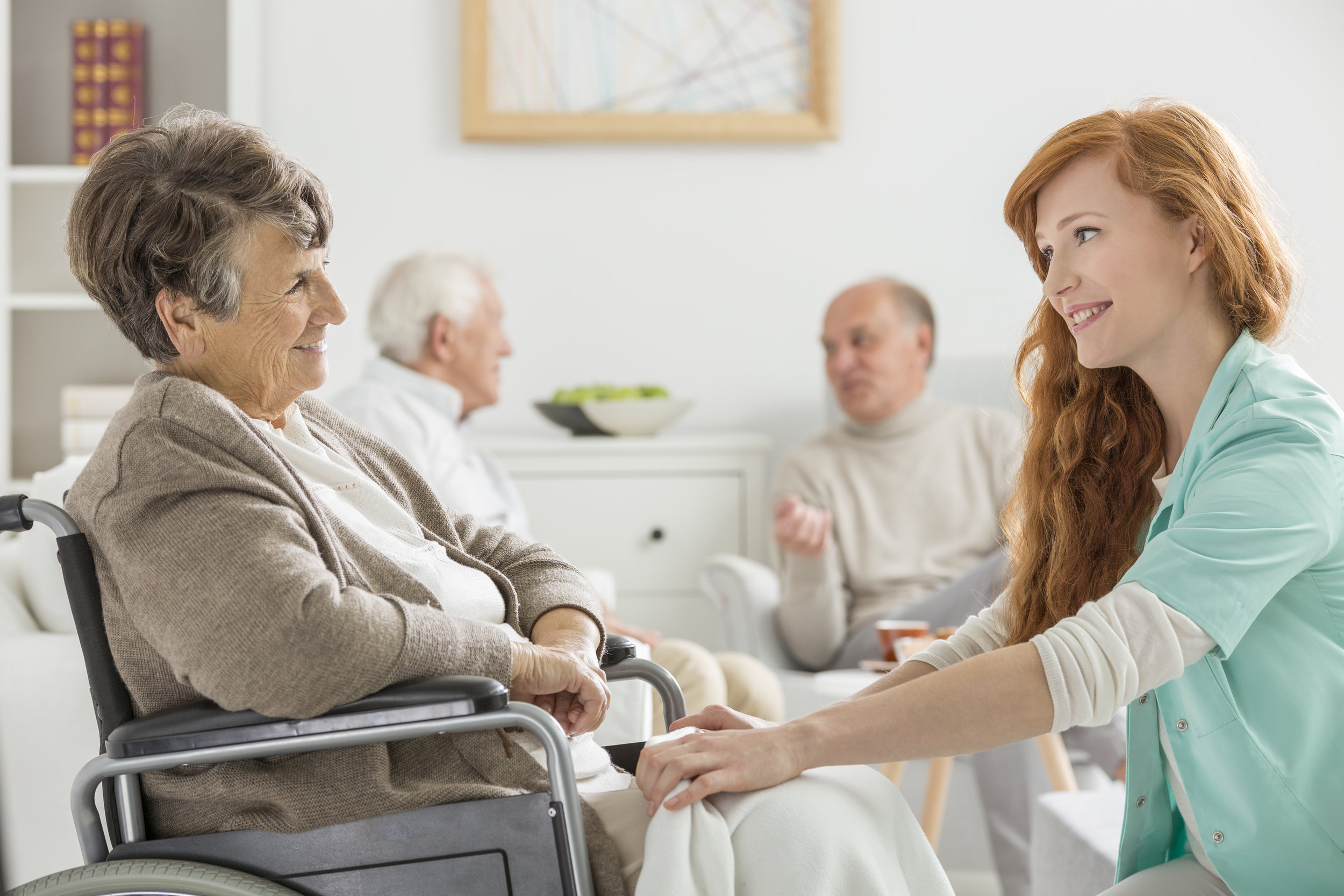We can assist in transitioning from independent living to assisted living or full care setting.