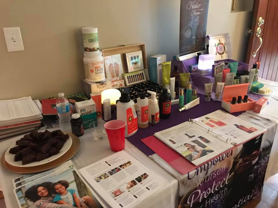 Marketspace Vendor Events presents DoTerra by Eileen Reiman