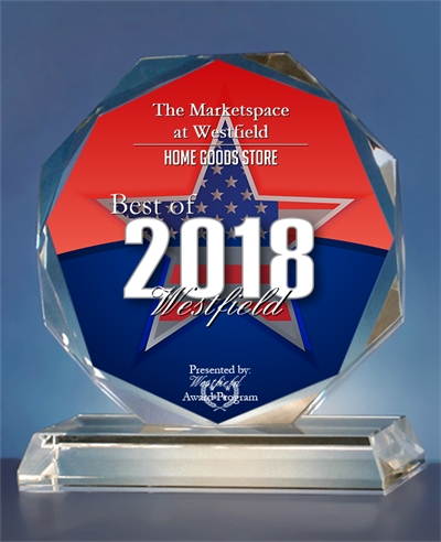 The Marketspace at Westfield Received 2018 Best of Westfield Award - October 3, 2018 Westfield, NJ -- The Marketspace at Westfield has been selected for the 2018 Best of Westfield Award. Each year, the Westfield Award Program identifies companies that have acheived exceptional marketing success in their local community.