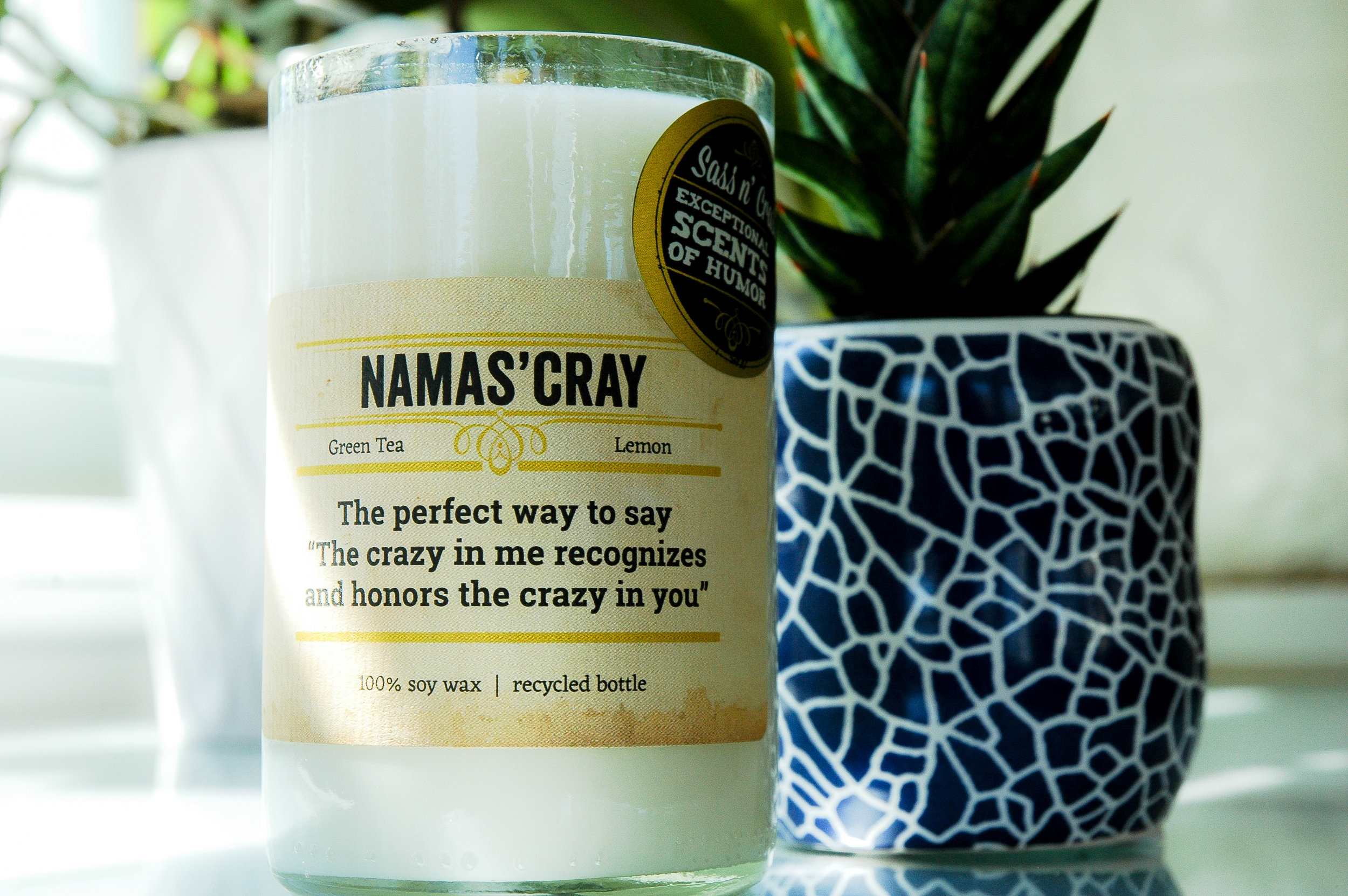 Sass N' Crass Candles - Lauren Pettorossi