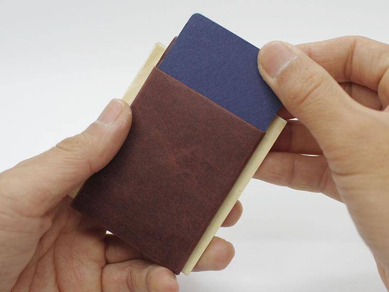Kamino Card Sleeve / Slim wallet, Minimalist wallet, Thin wallet, Vegan wallet, Eco-friendly wallet, Card wallet, Card holder, Paper wallet