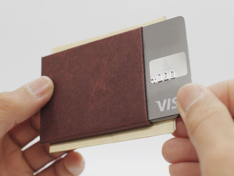 Kamino Wallet: Durable, Minimalist Paper Wallet that helps you go simple.