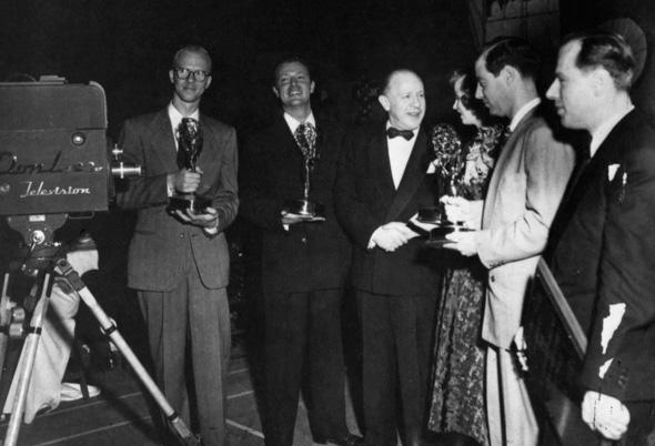 First Emmy Award Winners - Photo via Emmys.com (1949)