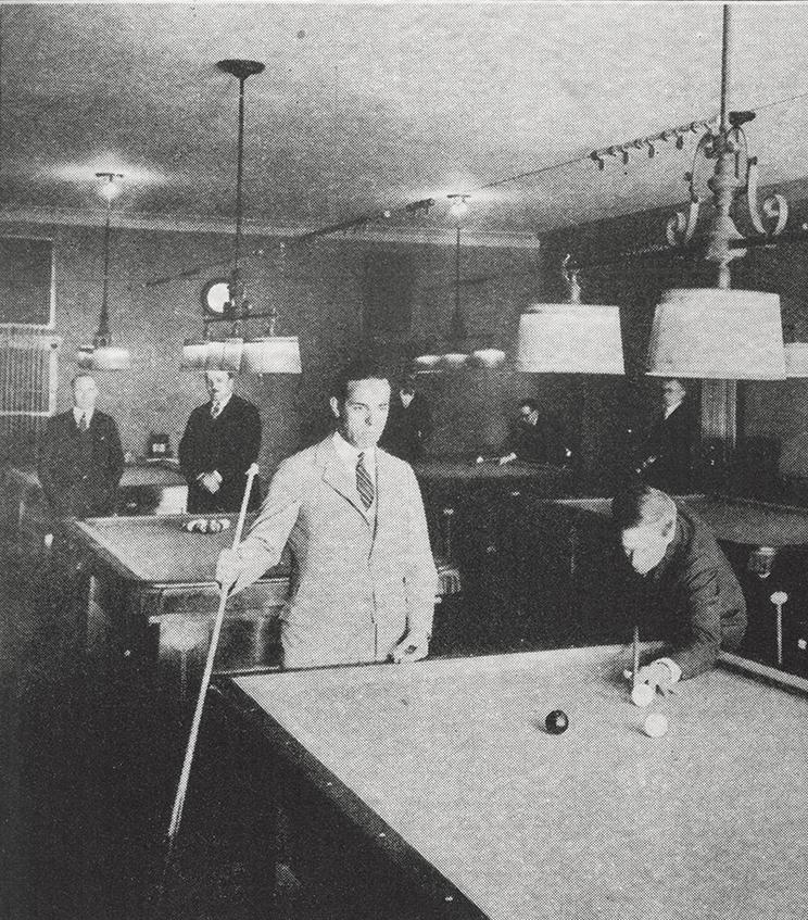 William S. Hart and Tony Moreno - Photo via The Hollywood Athletic Club (1920s)