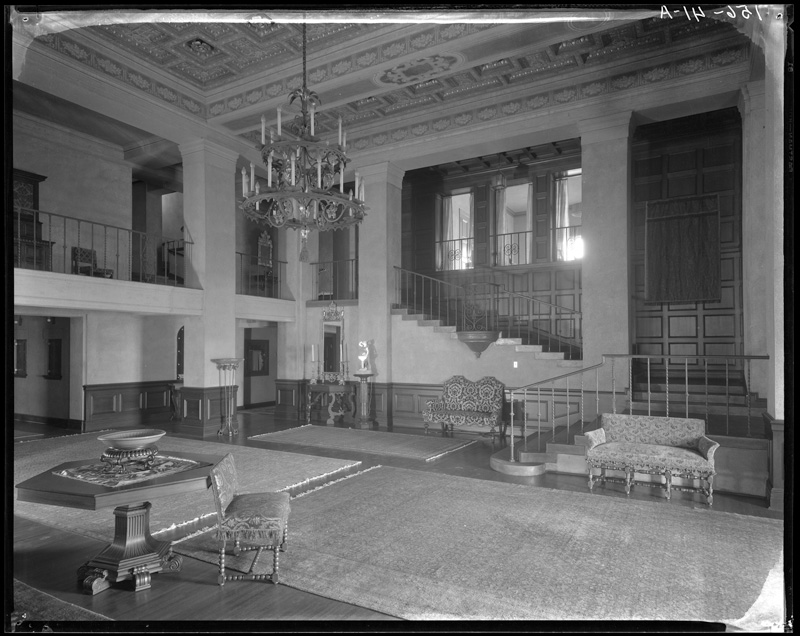 The Ebell Club of Los Angeles  Photo by Mott Studios via California State Library (c. 1930)