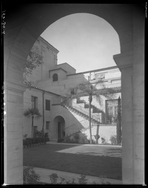 Courtyard at the Ebell Clubhouse