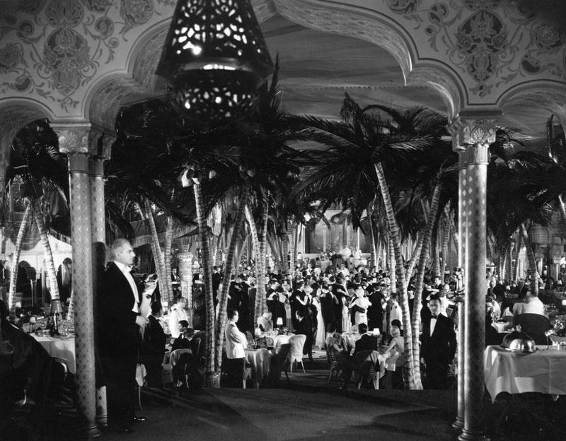 The Cocoanut Grove.  Photo via Los Angeles Public Library (c. 1920s)